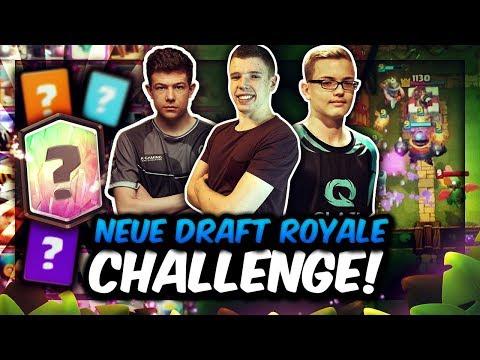 BRANDNEUE DRAFT ROYALE CHALLENGE! | EPISCHER KAMPF UM 200€ PREISGELD! | Clash Royale Deutsch