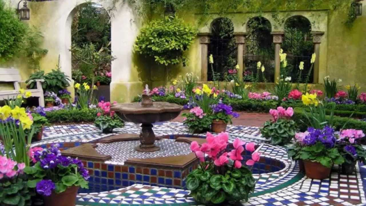 Good Most Beautiful Gardens In Europe (HD1080p)   YouTube Part 27