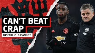 Can't Beat Crap Teams   Arsenal 2-0 Man United   Man United Review
