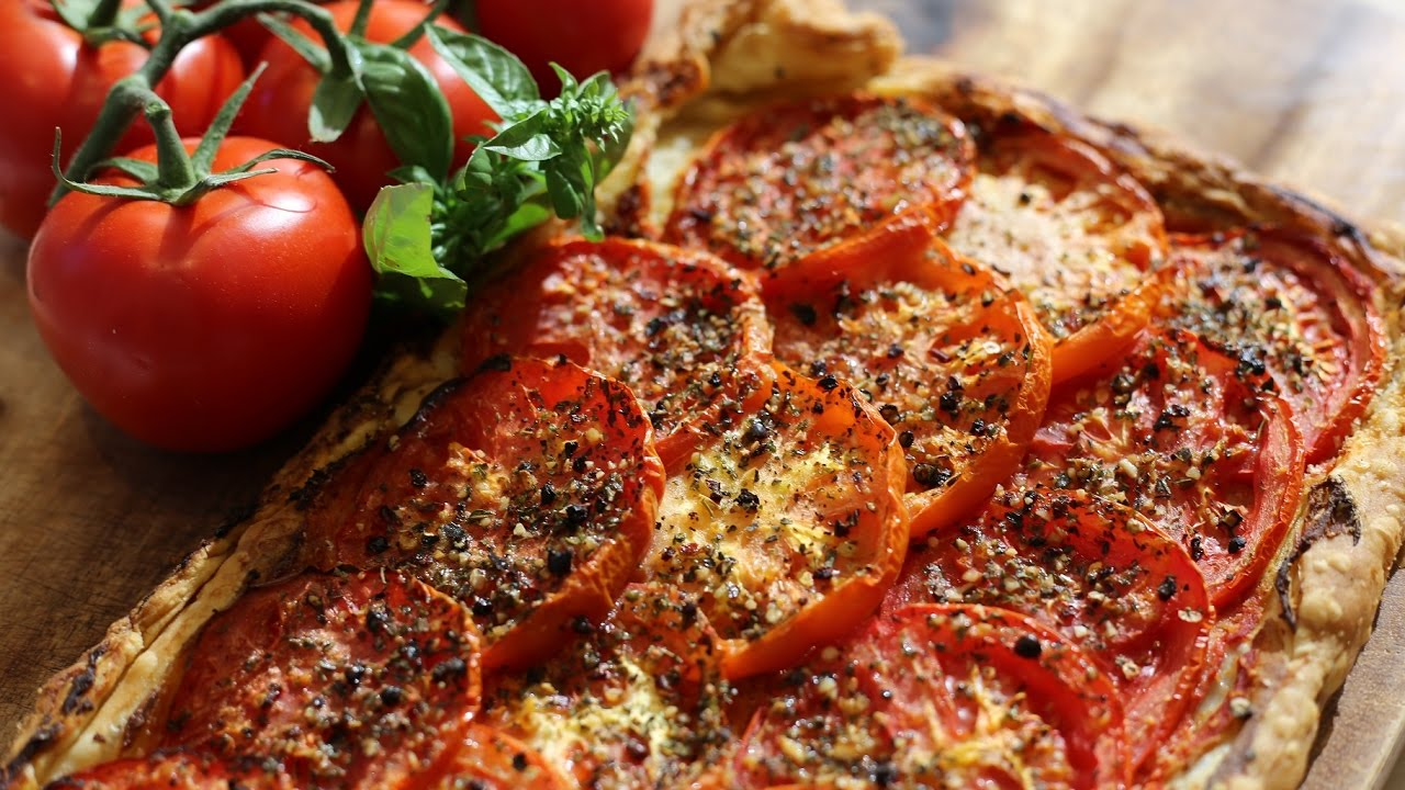 Tomato tart get a taste of provence youtube - French cuisine definition ...