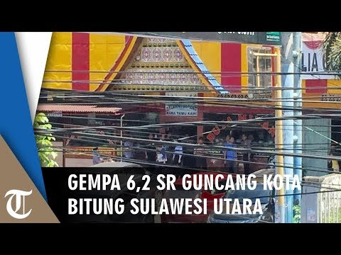 Gempa 62 SR Guncang Bitung Sulawesi Utara