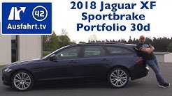 2018 Jaguar XF Sportbrake Portfolio 30d - Kaufberatung, Test, Review