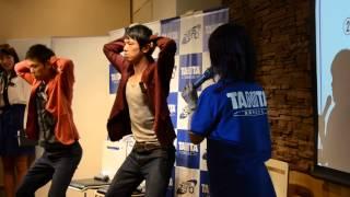 2013年10月14日 丸の内タニタ食堂で開催された、アクエリアス ゼロ×タニ...