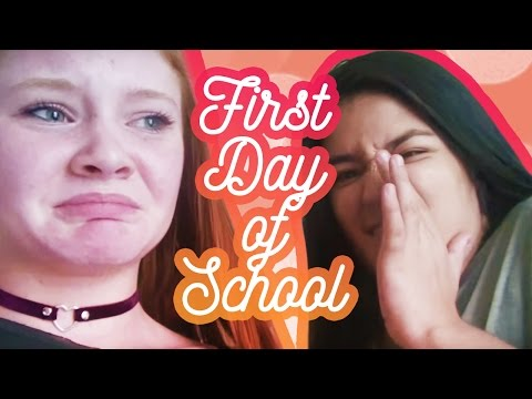FIRST DAY OF SCHOOL GRWMVLOG THING  Mackenzie Davis