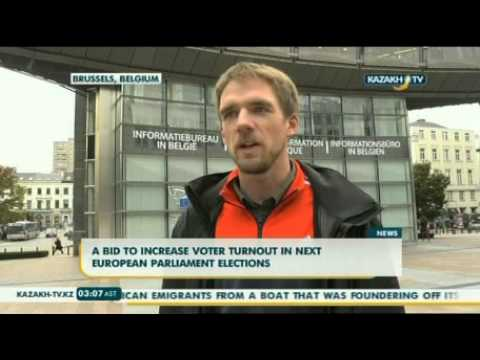A bid to increase voter turnout in next European parliament elections