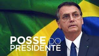Reveja a cerimônia de posse do presidente Jair Bolsonaro