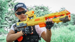 LTT Game Nerf War : Captain Warriors SEAL X Nerf Guns Fight Criminal Group Inhuman Bandits Diamonds