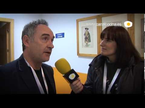 Madrid Fusión 2011: Ferrán Adriá nos explica en qué se va a convertir su restaurante El Bulli