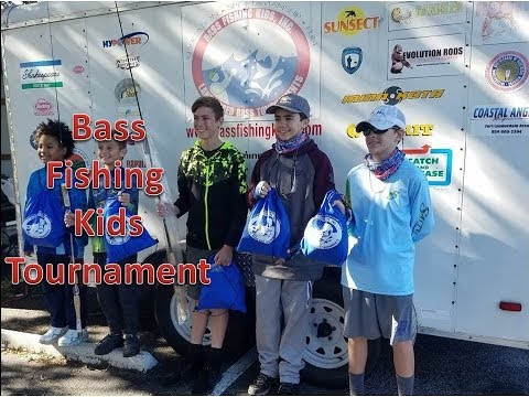 Bass Fishing Kids Tournament Jan 2018