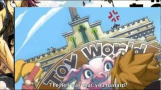 Lucy  Loke vs Bixlow English Sub [Fairy Tail]