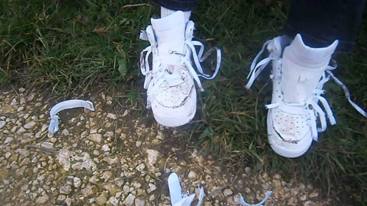 Nike Air Force 1 Total trash