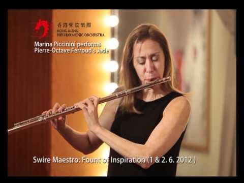 Marina Piccinini performs Pierre-Octave Ferroud's Jade