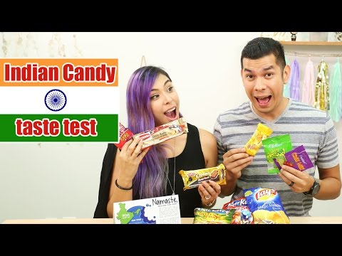 INDIAN CANDY TASTE TEST - Yum Box