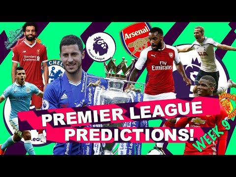 PREMIER LEAGUE PREDICTIONS - WILL ONE OF THE MANCHESTER CLUBS FINALLY LOSE? - WEEK 9