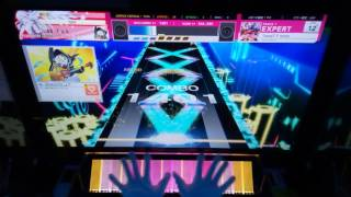 【CHUNITHM】TiamaT:F minor (EXPERT)  SSS【手元動画】