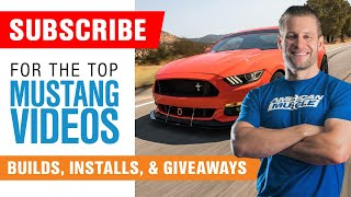 🏁 SUBSCRIBE for Daily Ford Mustang Videos and Win Free Mustang Parts! 🏁