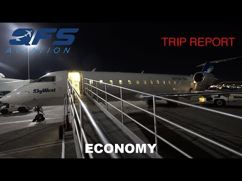 TRIP REPORT | SkyWest Airlines - CRJ 200 - Sacramento (SMF) to San Francisco (SFO) | Economy