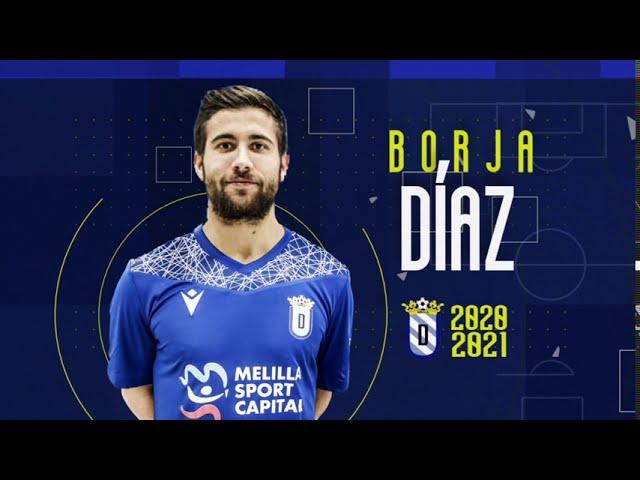 Borja Díaz, nuevo centrocampista azulino