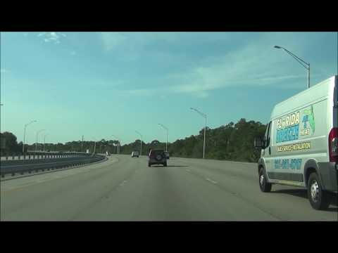 Florida - Interstate 95 South - Mile Marker 200 to 180
