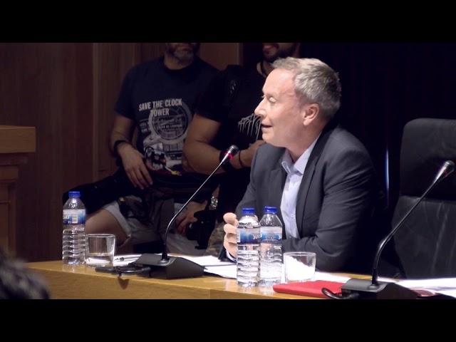 Pleno Extraordinario Diputación 16-7-2019