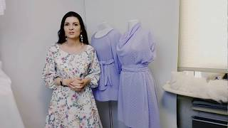 Платье и туника на лето из шифона.  Обзор новинок
