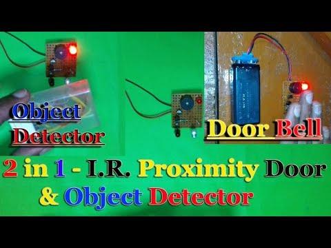 How to Make an IR Proximity Sensor | Touch less Door Bell ...