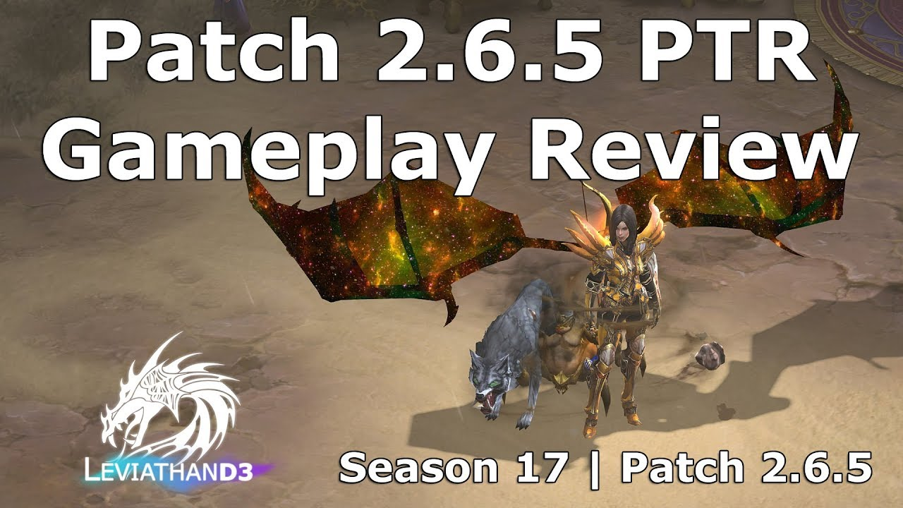 [Diablo 3] Patch 2 6 5 PTR Gameplay Review - Galactic Wings, Ancient Puzzle  Ring, Torment 16