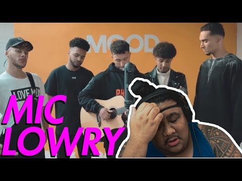 Mic Lowry - Don't Tempt Me (Acoustic) [MUSIC REACTION]