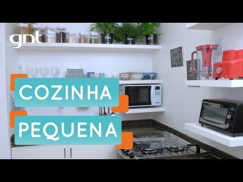Como organizar uma cozinha pequena | Organização | Santa Ajuda | Micaela Góes