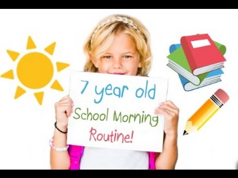 Cutest 7 year old School Morning Routine!
