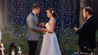 видео Свадьба в лесу