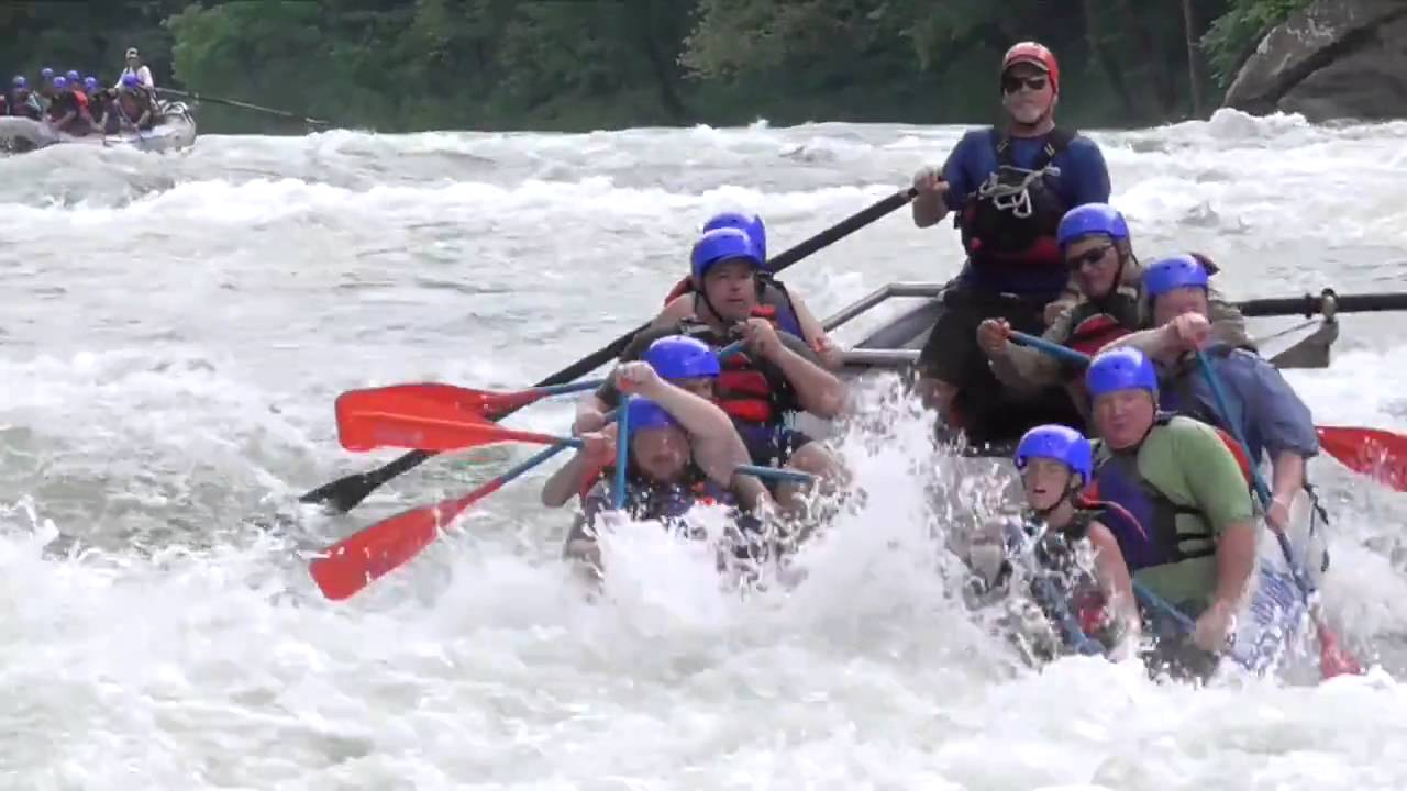 White Water Rafting Lower New River Youtube