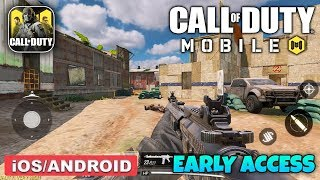 CALL OF DUTY MOBILE - PLAYSTORE EARLY ACCESS GAMEPLAY (ANDROID / iOS)