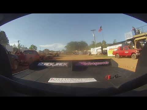 East Lincoln Speedway 2-4-19 Pro 4 Rear Cam Hot Laps Alexus Motes