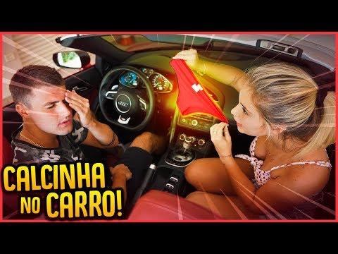 MINHA NAMORADA ACHOU UMA CALCINHA NO MEU CARRO!! - TROLLANDO REZENDE [ REZENDE EVIL ]