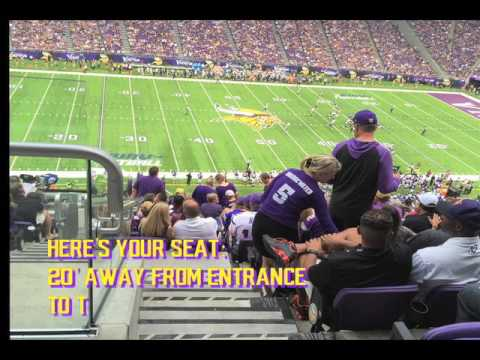 MN Vikings SBL (Seat Business License) for Sale