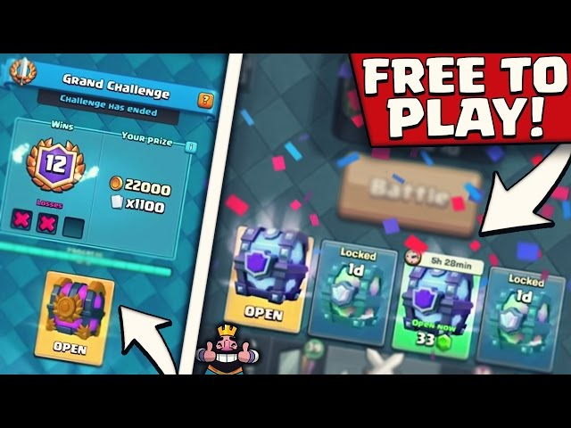 BIGGEST FREE 2 PLAY CHEST OPENING EVER! | 2 SMC + 2 LEGENDARY CHEST | CLASH ROYALE DEUTSCH