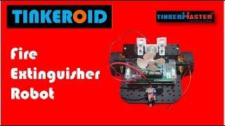 Fire Extinguisher Tinkeroid Robot