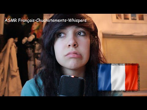 ♥ASMR♥ Français•Chuchotements•Whispers