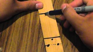 How To Make A Wooden Butterfly Knife (balisong)