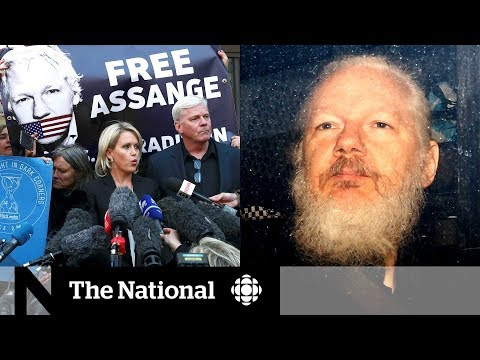 Julian Assange arrested after U.S. extradition request, charged with hacking government computer