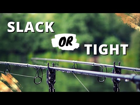Carp fishing: Where and how to use slack lines, back leads, tight lines and semi slack lines
