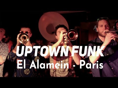 Globeshakers Project - Uptown Funk (cover) - Live @ Bateau El-Alamein - 21/12/2017