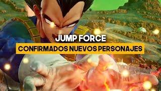 JUMP FORCE: Llegan VEGETA y otros personajes