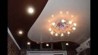 видео Правильное расположение светильников на натяжном потолке — расчёт количества лампочек