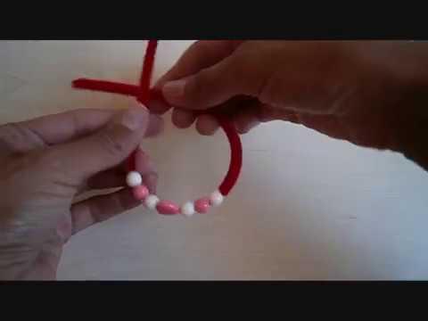 יצירת צמידים בבית