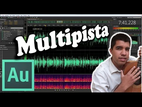 Adobe Audition CS6- How to record in the multitrack (Tutorial)