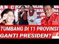 PDIP TUMBANG DI 11 PROVINSI PILGUB 2018;JATIM JABAR;JATENG MENANG;GANTI PRESIDEN PEMILU 2019;PILPRES