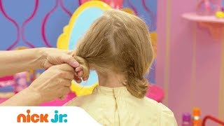 How to Make a Doodle Hairdo 🐩 Style Files Hair Tutorial | Sunny Day | Nick Jr.