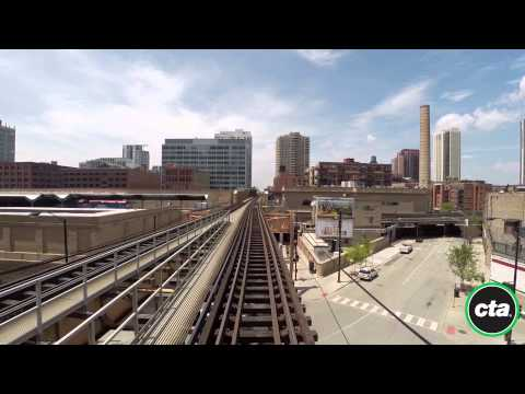 CTA Ride the Rails: Green Line from Garfield to Harlem in Real Time (2015)